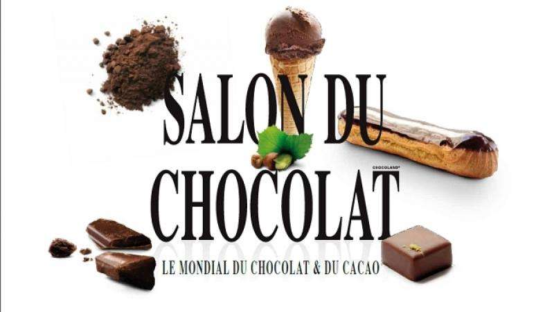 Chocolate and Wine Gourmet fairs in Paris